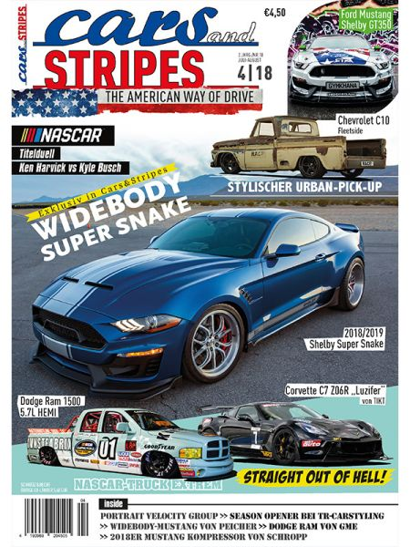Cars and Stripes Magazin 4-18