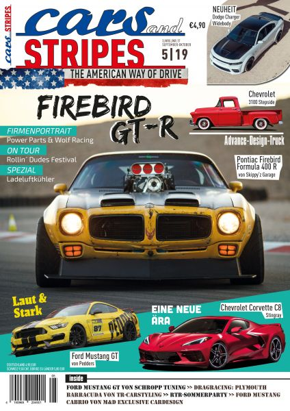 Cars and Stripes Magazin 5-19 Vorbestellung