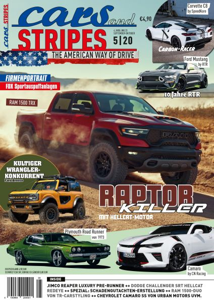 Cars and Stripes Magazin 5-20 Vorbestellung