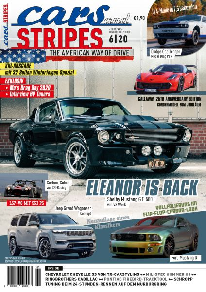 Cars and Stripes Magazin 6-20 Vorbestellung