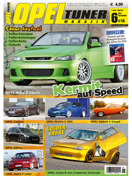 Tuning Couture Magazine Opel Tuner