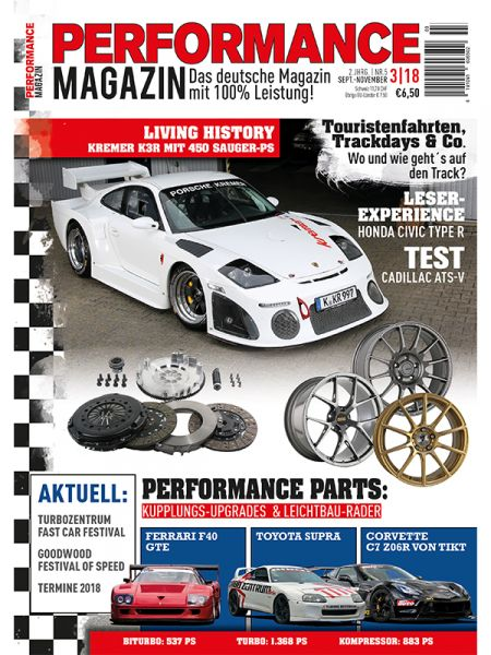 Performance Magazin 3-18 Vorbestellung