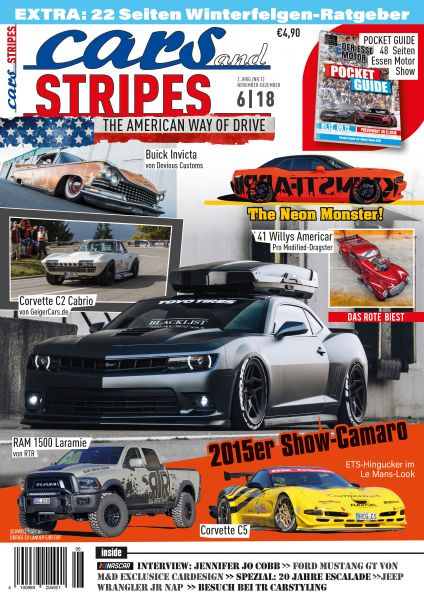 Cars and Stripes Magazin 6-18 Vorbestellung