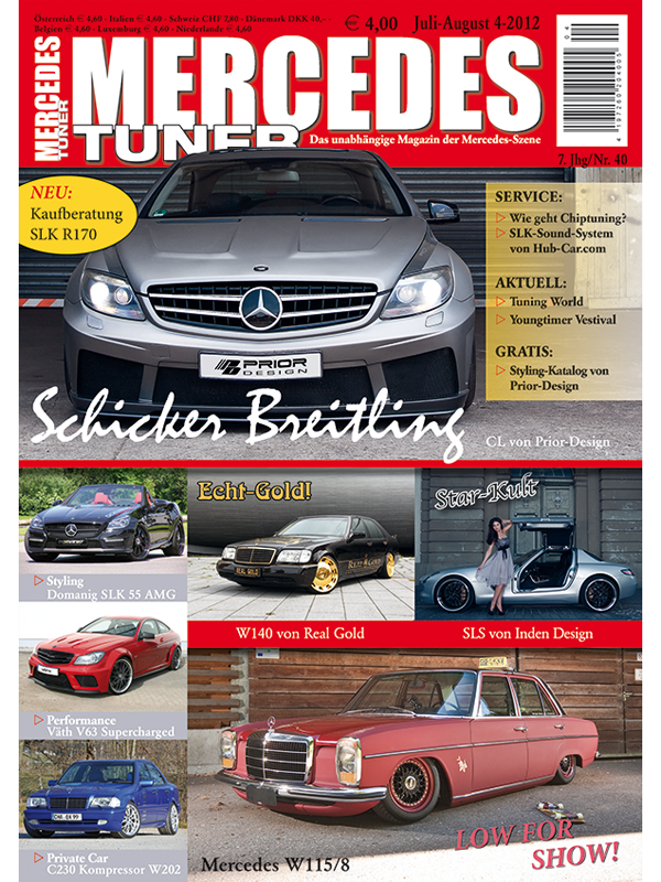 Tuning Couture - Mercedes Tuner issue 4-12