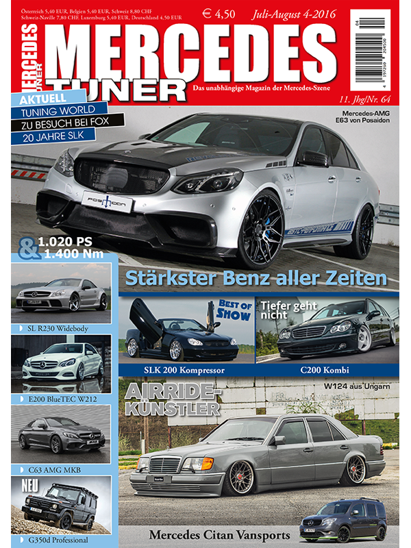 Tuning Couture - Mercedes Tuner issue 4-16